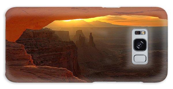 Sunrise At Mesa Arch 2 Galaxy Case