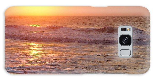 Sunrise At Ocean Isle Galaxy Case