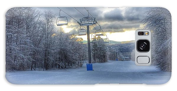 Sunrise At Okemo Mountain Galaxy Case