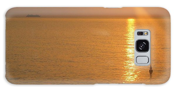 Sunrise At Sea Galaxy Case by Photographic Arts And Design Studio
