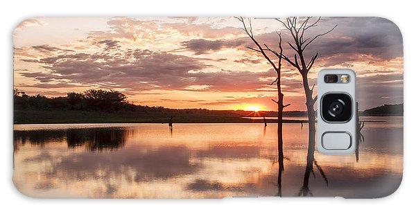 Sunrise At Stockdale Galaxy Case by Scott Bean
