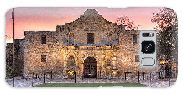 Texas Galaxy Case - Sunrise At The Alamo San Antonio Texas 1 by Rob Greebon