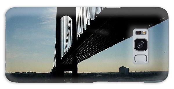 Sunrise At The Bridge Galaxy Case