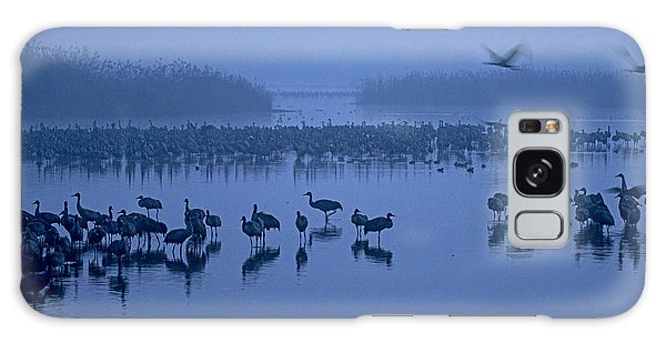 Sunrise Over The Hula Valley Israel 4 Galaxy Case
