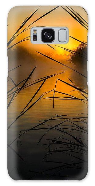 Sunrise At The Sepulveda Dam Wildlife Reserve Galaxy Case