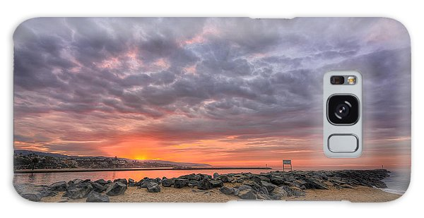 Sunrise At The Wedge Galaxy Case