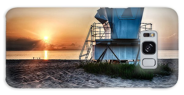 Sunrise At Vero Beach Hdr 3 Galaxy Case by Michael White