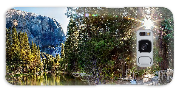 Yosemite National Park Galaxy S8 Case - Sunrise At Yosemite by Az Jackson