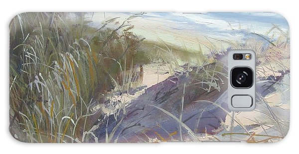 Sunrise Beach Dunes Sunshine Coast Qld Australia Galaxy Case