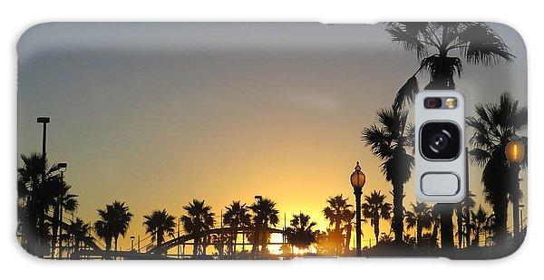 Sunrise Belmont Park San Diego 1 Galaxy Case