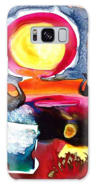 Sunrise Galaxy Case by Catherine Redmayne