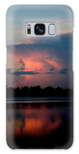 Sunrise Cloud Reflection Galaxy Case