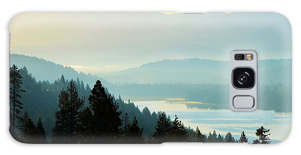 Sunrise Donner Lake California Galaxy Case