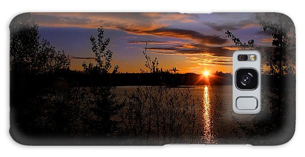 Sunrise Fairbanks Alaska Galaxy Case
