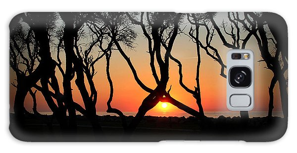 Sunrise Fort Fisher Galaxy Case by Phil Mancuso