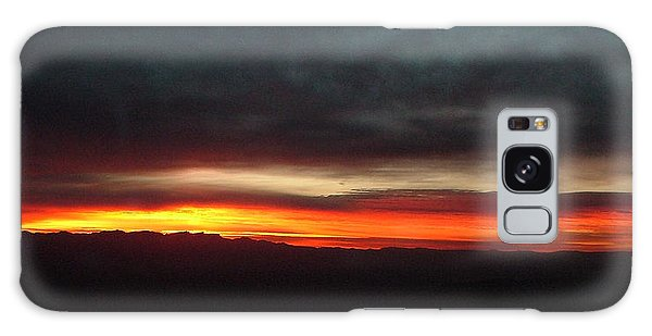 Sunrise From The Rim 002 Galaxy Case