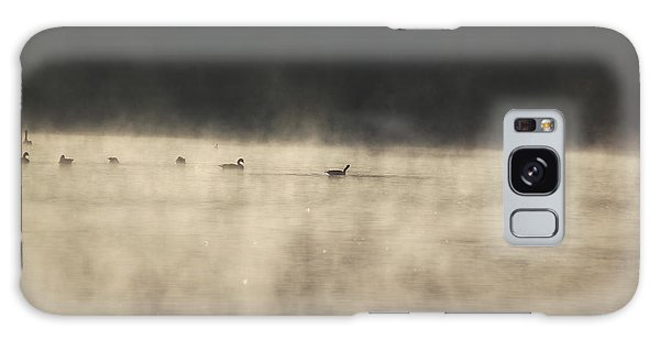 Sunrise Geese Galaxy Case by Melissa Petrey