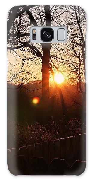 Sunrise In Hocking Hills Galaxy Case