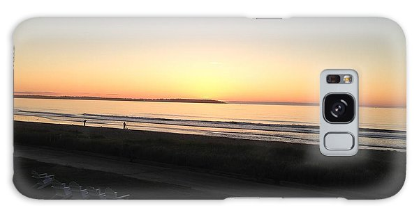 Old Orchard Beach Sunrise  Galaxy Case