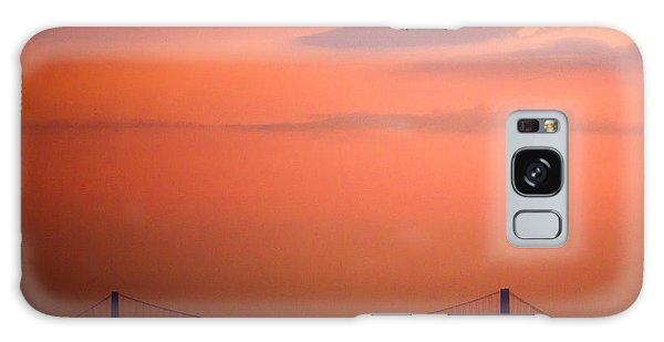 Sunrise In New York Galaxy Case by Sara Frank