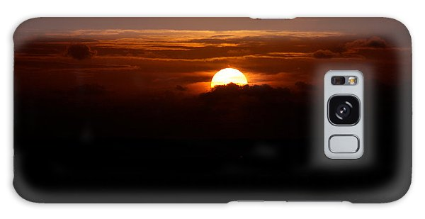 Sunrise In The Clouds Galaxy Case by Lehua Pekelo-Stearns