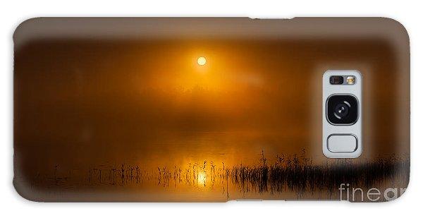 Sunrise In The Fog Galaxy Case
