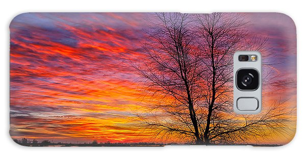 Sunrise In The Sacramento Valley Galaxy Case