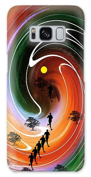 Sunrise Joggers  Galaxy Case