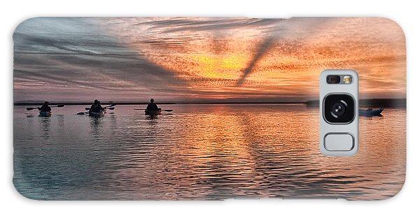 Sunrise Kayaking Galaxy Case