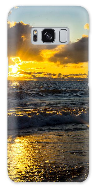 Sunrise Lake Michigan August 30th 2013 001  Galaxy Case