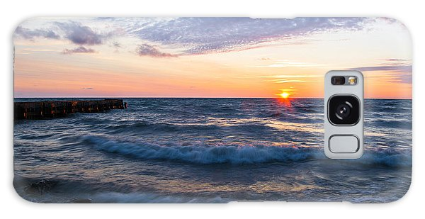 Sunrise Lake Michigan August 8th 2013 003 Galaxy Case