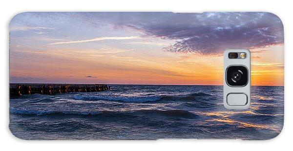 Sunrise Lake Michigan August 8th 2013 007 Galaxy Case