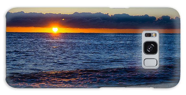 Sunrise Lake Michigan September 14th 2013 016 Galaxy Case