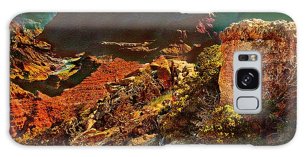 Sunrise Lipan Point Grand Canyon Galaxy Case
