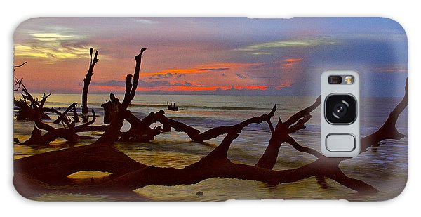 Sunrise On Bulls Island Galaxy Case
