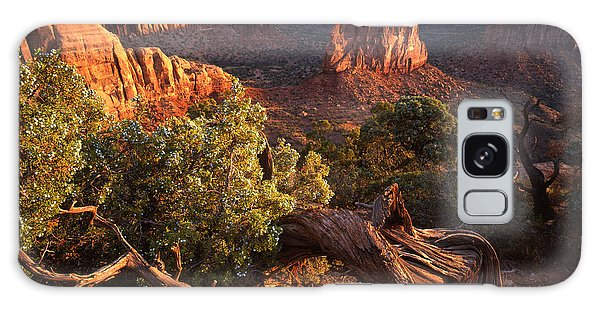 Sunrise On Indepedence Galaxy Case by Ray Mathis