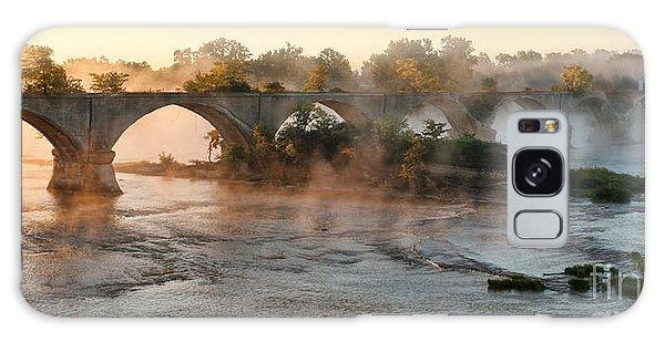 Sunrise On Interurban Bridge 0369 Galaxy Case