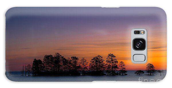 Sunrise On Lake Mattamuskeet Galaxy Case