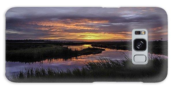 Sunrise On Lake Shelby Galaxy Case