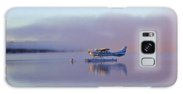 Sunrise On Lake Te Anu Galaxy Case by Venetia Featherstone-Witty