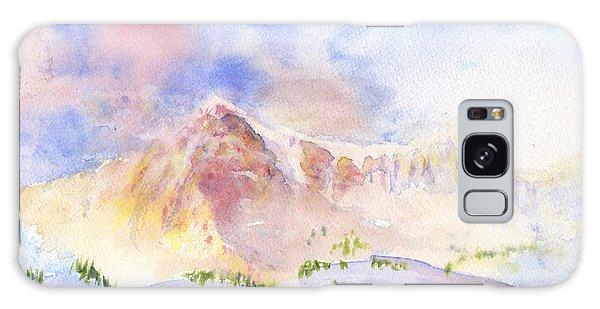 Sunrise On Mount Ogden Galaxy Case