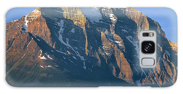 1m3518-sunrise On Mt. Temple Galaxy Case