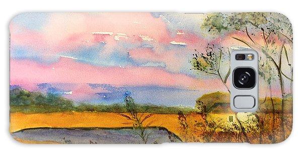 Sunrise On Patcong Creek Galaxy Case