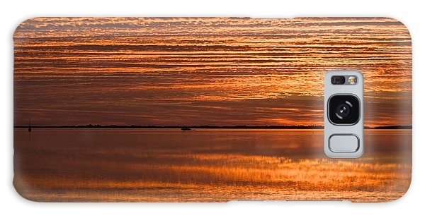 Sunrise On Ramrod Key Galaxy Case by Sandy Molinaro