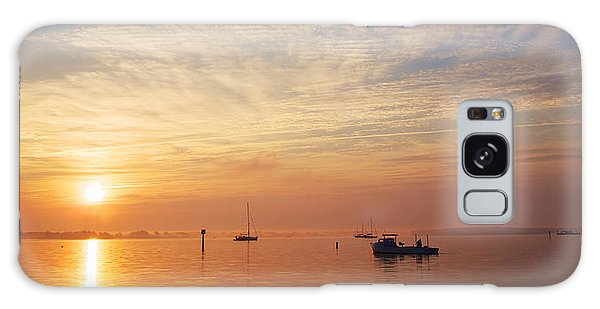 Sunrise On The Chesapeake Bay Galaxy Case