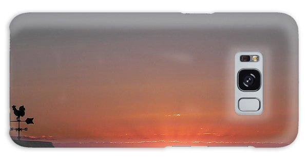 Sunrise On The Farm Galaxy Case