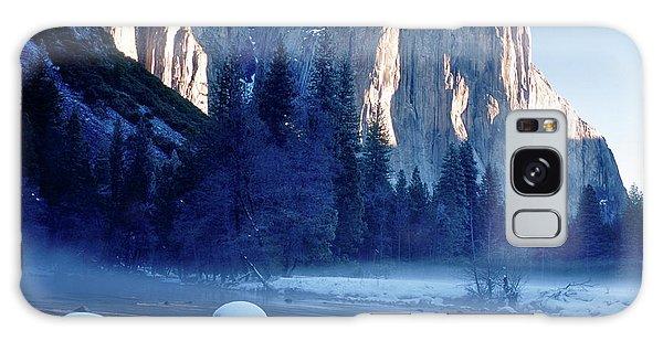 Sunrise On El Capitan Yosemite National Park Galaxy Case