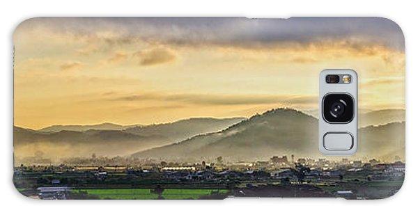 Sunrise On The Mountain Galaxy Case
