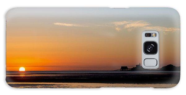 Sunrise On The Mumbles Galaxy Case