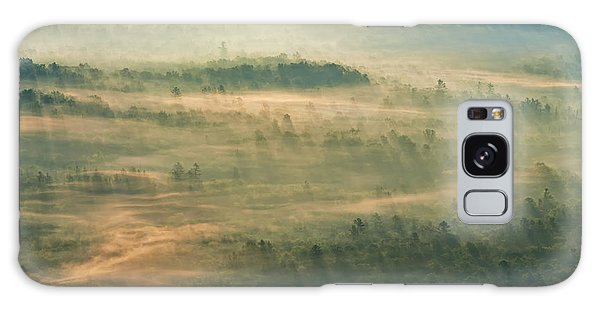 Sunrise On The Parkway - Blue Ridge Parkway - Asheville - North Carolina Galaxy Case
